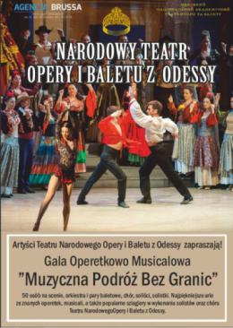 Narodowy Teatr Opery I Baletu Z Odessy Koncert Muzyczna Podróż Bez