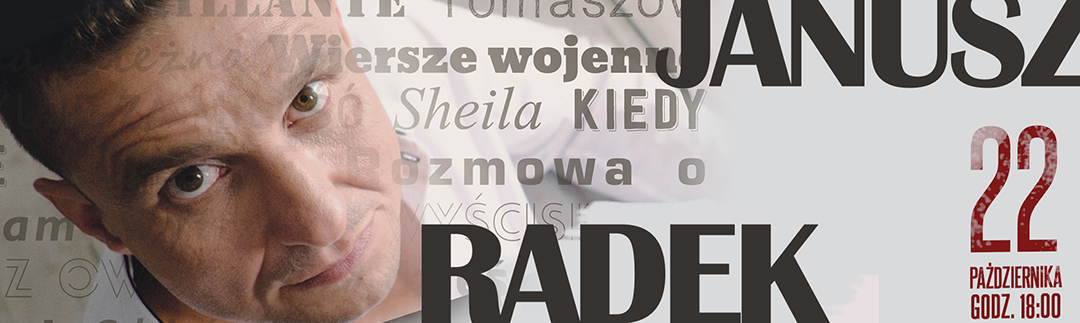 Janusz Radek W Browarze B Bilety Online Opis Recenzje