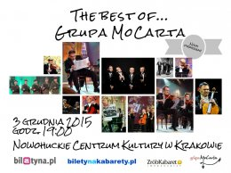 Grupa Mocarta - The best of - Bilety na kabaret
