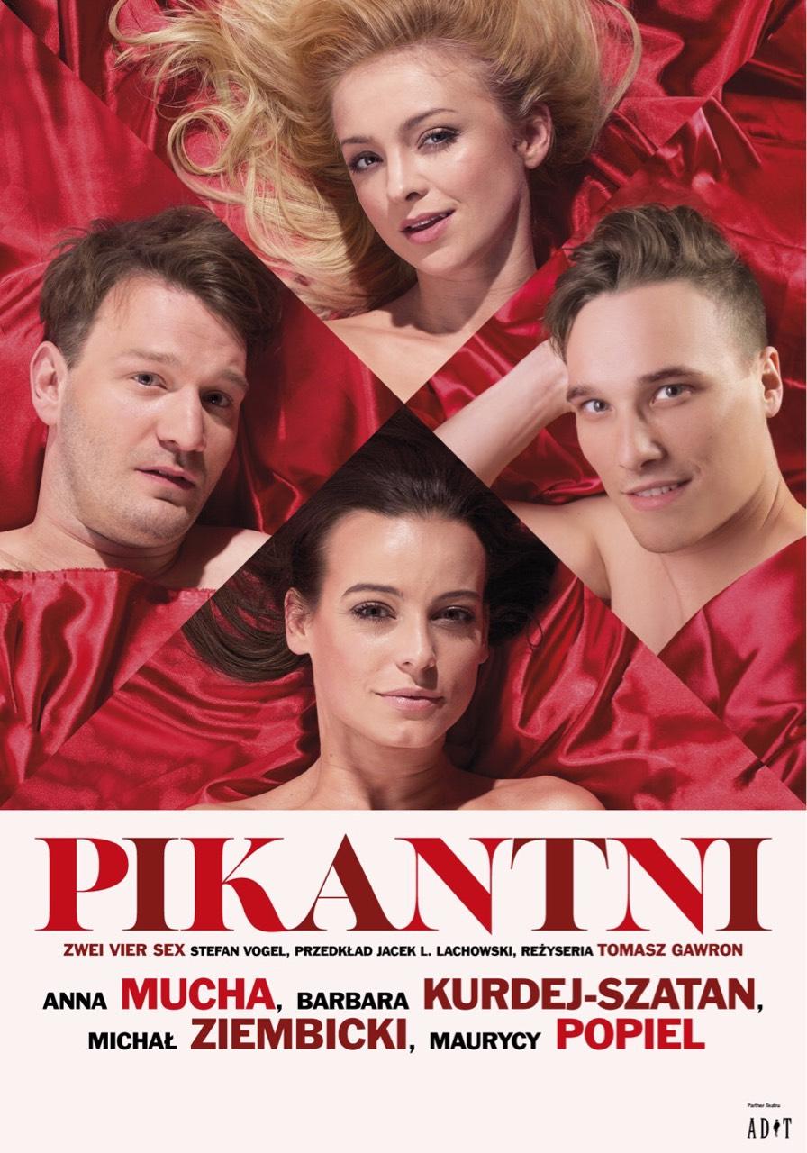 """Spektakl """"Pikantni"""" @ ul. Nowy Świat 28-30"""