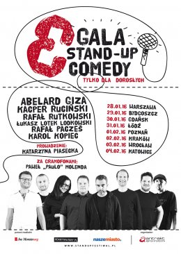 3 Gala Stand up Comedy - Bilety na stand-up