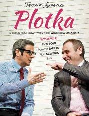 Plotka - komedia Teatru Syrena w reżyserii Wojciecha Malajkata