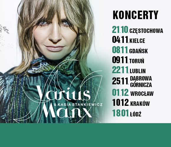 Varius Manx I Kasia Stankiewicz Ent Kraków Bilety Na Koncert