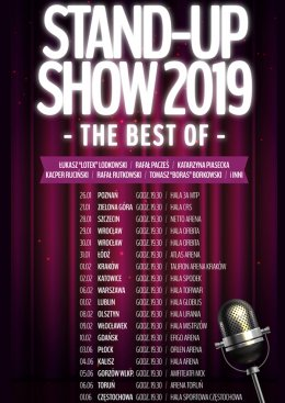 Stand-up Show 2019 - The best of - Bilety na stand-up