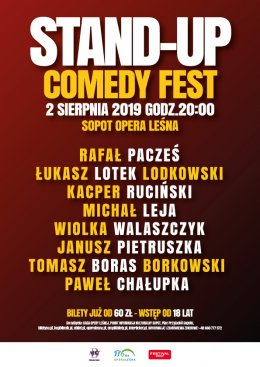 Stand-up Comedy Fest - Bilety na stand-up