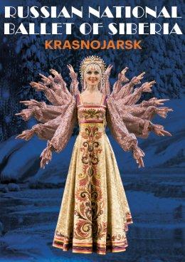 Russian National Ballet Of Siberia Krasnojarsk - Bilety na spektakl teatralny