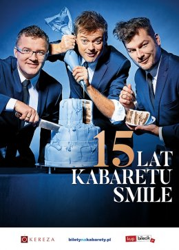 Kabaret Smile - The Best of 15 lat Kabaretu Smile! - Bilety na kabaret