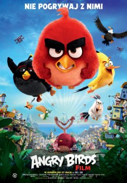 ANGRY BIRDS - Bilety do kina