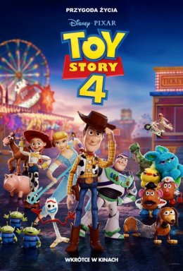 Toy Story 4 - Bilety do kina