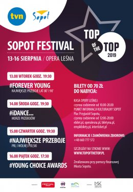 TOP of the TOP Sopot Festival - Bilety na koncert