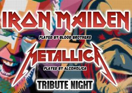 Tribute Night to Iron Maiden & Metallica by  Blood Brothers  AlcoholicA - Bilety na koncert