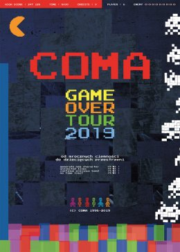 COMA - Game Over - Bilety na koncert