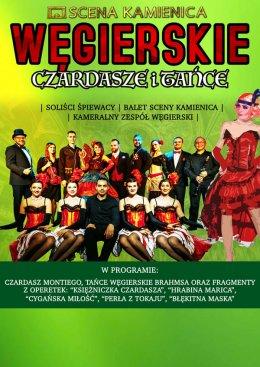 Węgierskie Czardasze i Tańce - Bilety na koncert