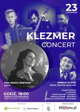 Klezmer Concert + Henryk Rajfer - Bilety na koncert