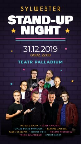 Sylwester Stand-up Night - Bilety na stand-up