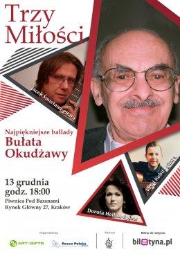 """Koncert   """" Trzy miłości...- ballady Bułata Okudżawy - Bilety na koncert"""