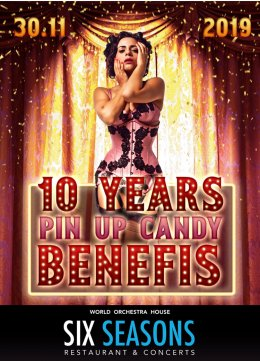 10 Years Pin Up Candy - Bilety na koncert