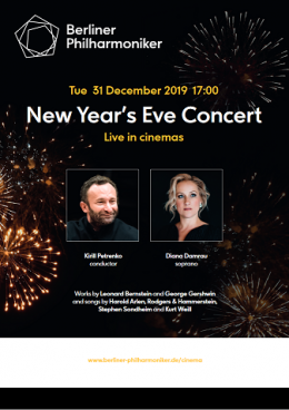 Filharmonicy Berlińscy - New Year's Eve Concert with Kirill Petrenko and Diana Damrau - Bilety na koncert
