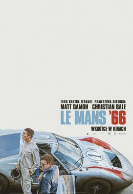 Le Mans'66 - Bilety do kina
