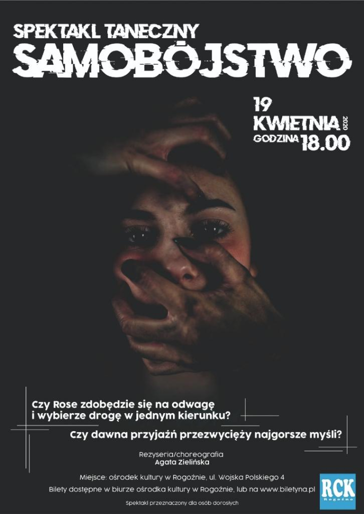 Spektakl Taneczny Samobójstwo Bilety Online Opis