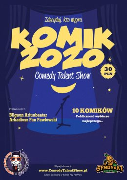 Comedy Talent Show Komik 2020 - Bilety na stand-up