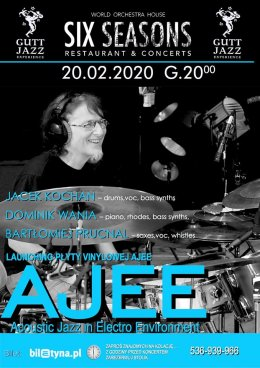 AJEE - Acoustic Jazz in Electro Environment - Bilety na koncert