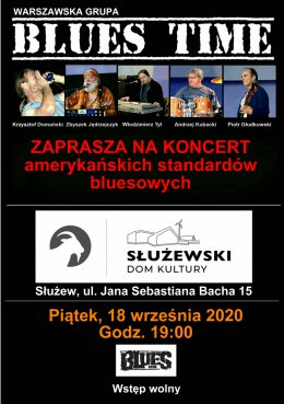 Koncert Blues Time - Bilety na koncert
