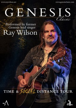 Ray Wilson - Time And Social Distance Tour - Bilety na koncert