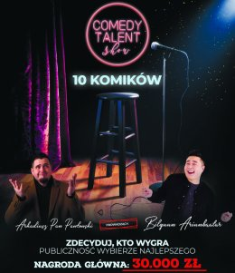 Comedy Talent Show Komik 2021 - Bilety na stand-up