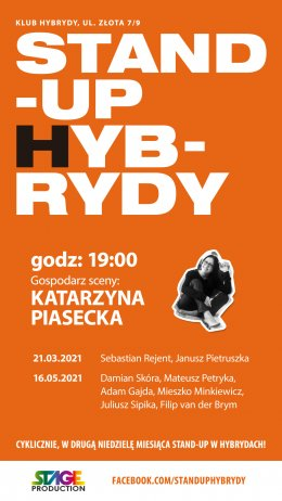 Stand-up Hybrydy - Bilety na stand-up