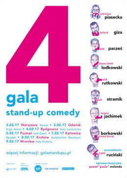 4 Gala Stand up Comedy - Bilety na stand-up