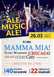 Ale Musicale! - największe przeboje Teatru Roma: Mamma Mia, Grease, Cats i wiele innych...